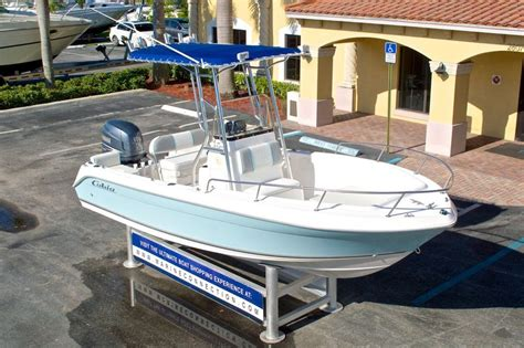 used 2004 cobia 194 center console boat for sale in west palm fl 15hc new used