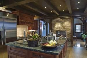 52, Dark, Kitchens, With, Dark, Wood, Or, Black, Kitchen, Cabinets, 2020