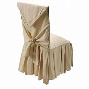 Housse De Chaise But : grande housse de chaise ecru achat vente housse de ~ Dailycaller-alerts.com Idées de Décoration
