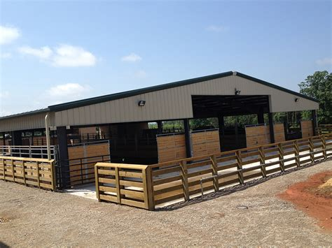 Steer Barn by Olde Dominion Agricultural Foundation Home