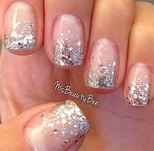 Glitter French Tip Nail Designs - Best Image Wallpaper