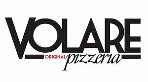 logo created for houston restaurant brand volare pizzeria With created by team