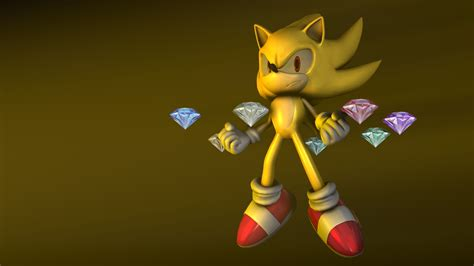 Sonic The Hedgehog Desktop Backgrounds Super Sonic Wallpaper Wallpapersafari