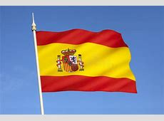 Flag of Spain Europe stock image Image of flagpole