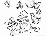 Coloring Ducktales Pages Louie Huey Disneyclips Dewey Disney Triplets Printable Celebrating Funstuff sketch template
