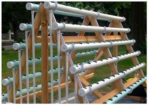 membuat rak hidroponik sendiri rumah hidrafarm