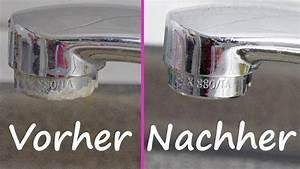 Kalk Entfernen Essig : stark verkalkten wasserhahn richtig entkalken reinigen ~ Watch28wear.com Haus und Dekorationen