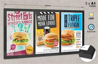 Boards Display Restaurant Menu Restaurants Displays Illuminated