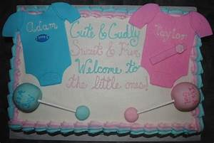 13 Boy And Girl Baby Shower Cakes Photo - Party XYZ