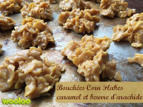 bouch 233 es au corn flakes caramel et beurre d arachide wooloo