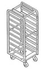 single  load aluminum  baxter mod adv single rack oven single bakeryequipmentcom