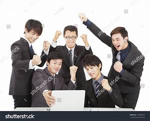 Happy Young Business Team Office Stock Photo 126406337 ...