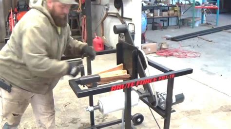 brute force firewood bundler youtube