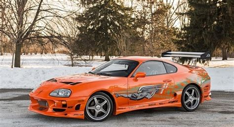 toyota go car fast and furious toyota supra stunt car will go on auction