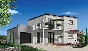 ma future maison modele de maison terrain a vendre With ordinary photo maison toit plat 9 en pierre moderne toit plat tendance