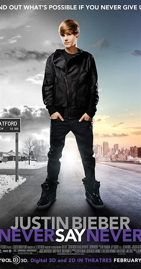 Justin Bieber Never Say Never (2011) Imdb