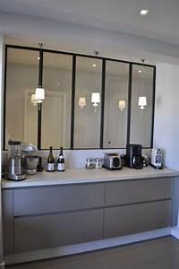 1000 idees sur le theme agencements de cuisine sur With wonderful plan maison en u ouvert 9 cuisine avec verriare