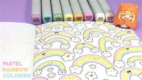 Coloring Pastel by Pastel Rainbow Coloring
