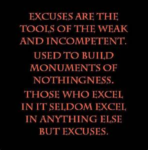 Excuses tools o... Incompetent Teacher Quotes