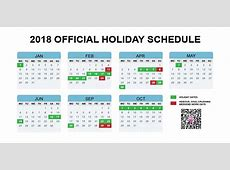 China's Official 2018 Holiday Calendar Announced Earlier