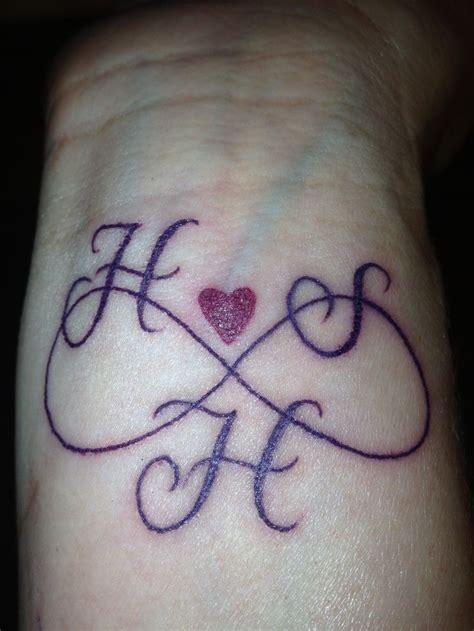 tattoos  childrens initials initial tattoo tattoos