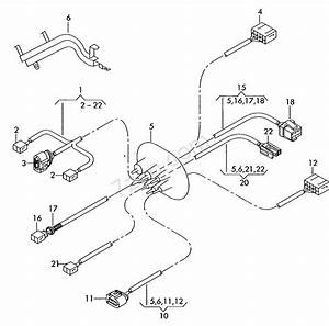 Additional Wiring Harness For Engine Compartment     Audi