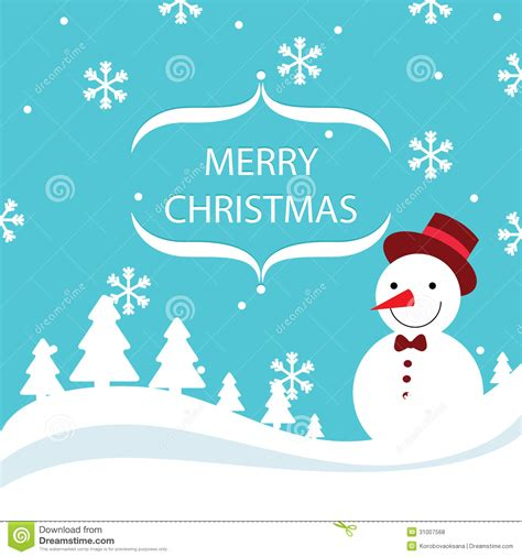 christmas card vector images merry christmas