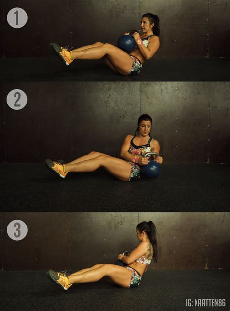 kettlebell russian twist exercises benefits body amazing tutorial trimmedandtoned technique workouts snatch
