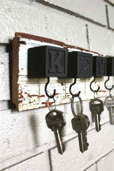 creative key holder ideas