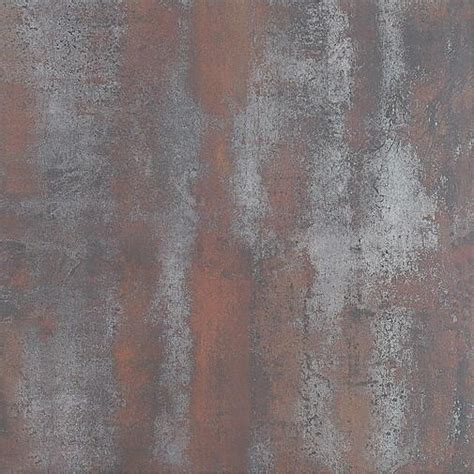 rust metal look tile 600x600mm metal glazed