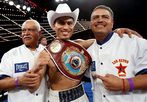 ive trained robert garcia  ring