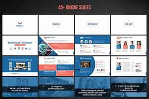Powerpoint Design Template Web Design Development Project Proposal Powerpoint