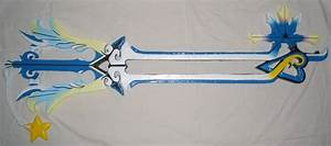 Oathkeeper Keyblade by RedShotRonin on DeviantArt
