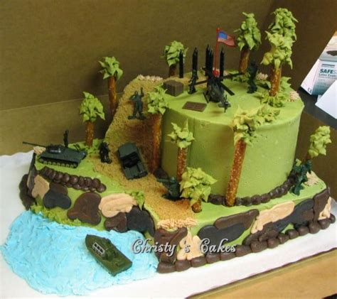 Cake in the photo size of 24 centimeters. Army Cake | Army birthday cakes, Army cake, Birthday cakes ...
