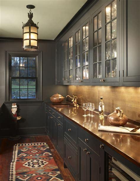 gray cabinetsmoroccan light fixture kilim rug copper