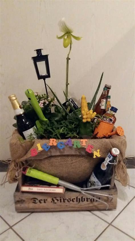 geschenk mann basteln biergarten f 252 r m 228 nner zum geburtstag zar lustige geschenke geschenke verpacken geburtstag