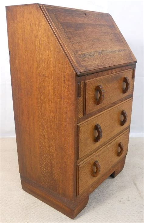 oak writing bureau uk small solid oak writing bureau desk 154305