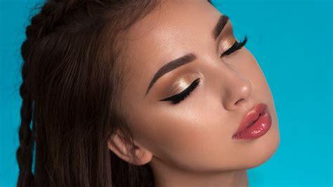 soft summer glam makeup tutorial  faced natural love palette youtube