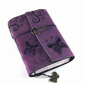 Butterflies Leather Journal Diary Book By Kreativlink On Etsy