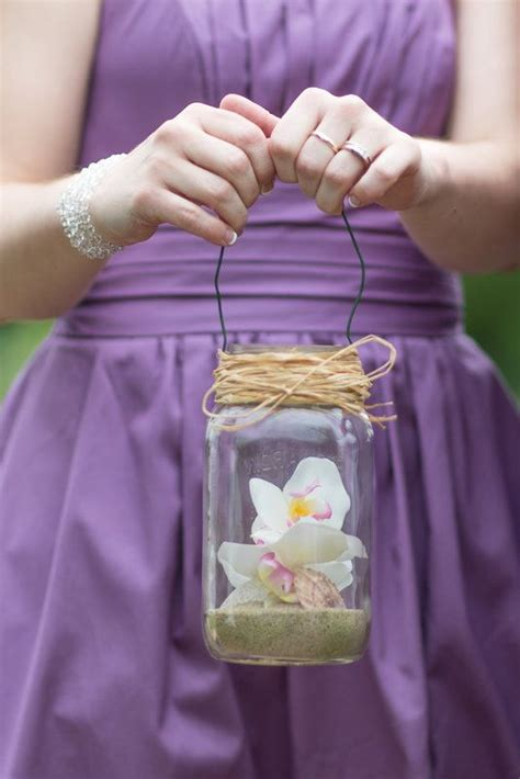 bouquet alternative diy flowers seashells  sand