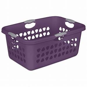 Sterilite, 2, Bushel, 71, L, Ultra, Laundry, Basket, -, Walmart, Com