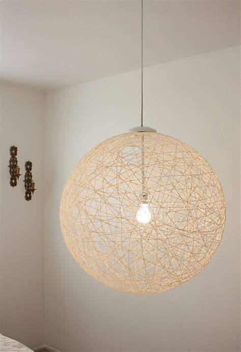 string pendant l diy 7 chic diy chandeliers to brighten your classic home
