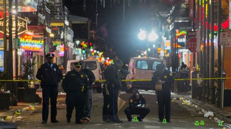 orleans shootout leaves  dead  wounded cnn