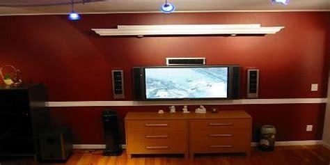 cornice  hide projector screen decor ideas pinterest