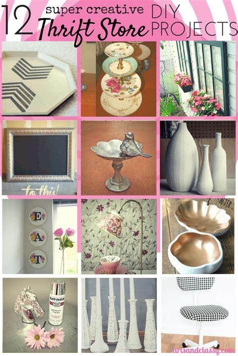 12 Creative Thrift Store Diy Art & Decor Projects Arts