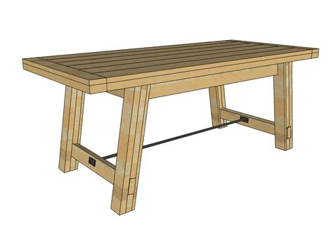 kitchen table bench plans free dining table free dining table bench plans