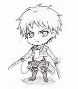 Titan Attack Coloring Levi Armin Eran Chibi Yager Eren Aot Mikasa Deviantart Sketch Suggestions Keywords Templates Template sketch template