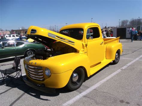 1948 Ford F1 Pickup At The 2014 Cabin Fever Car Show In