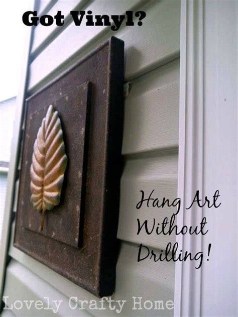 vunyl siding clips  hang art homeexterior