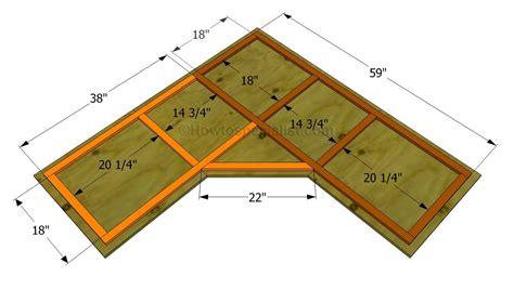 build  corner desk  wood plans diy desk